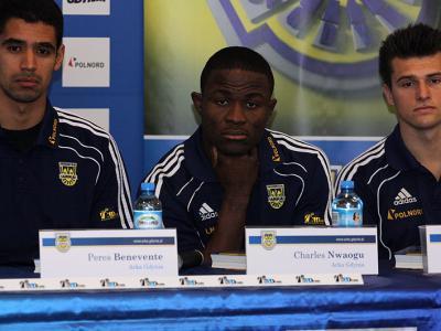Konferencja nowych piłkarzy